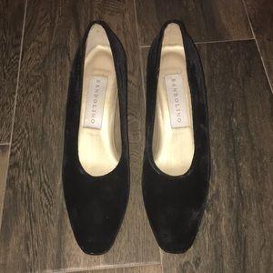 💗5 for $25 Wednesday Addams inspired VELVET heels
